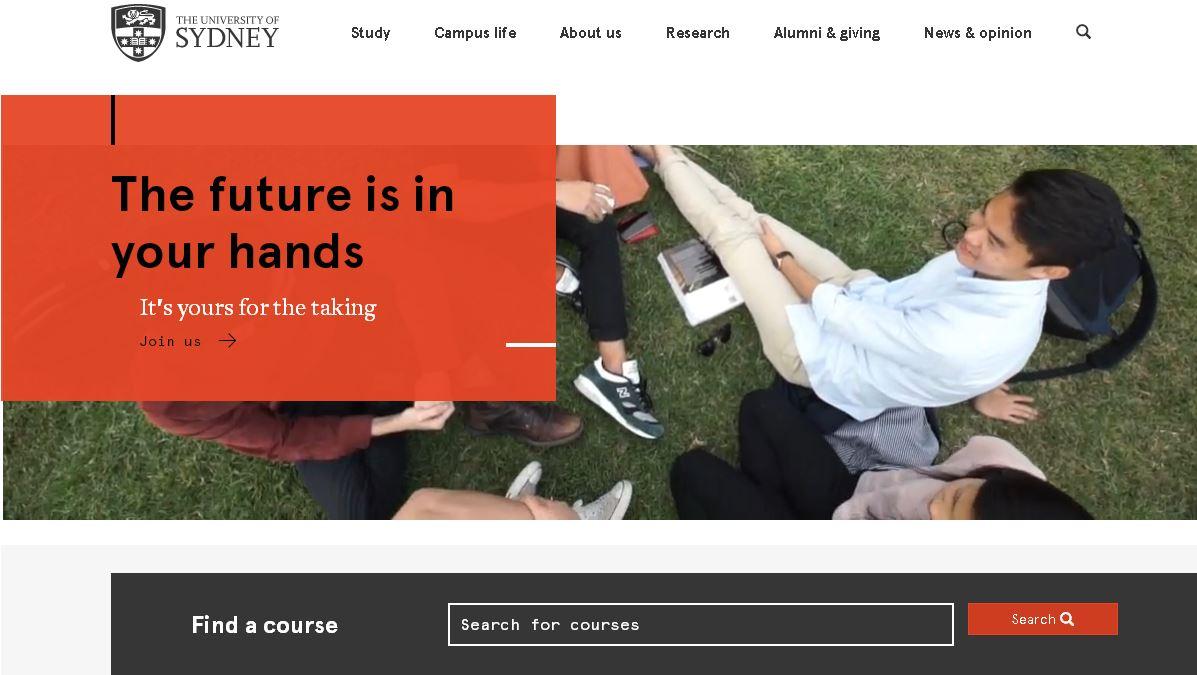 澳大利亚悉尼大学(The University of Sydney)雪梨大学