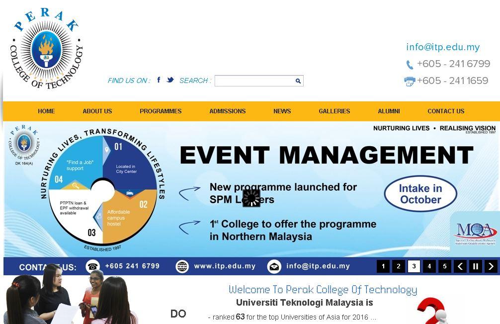 馬(ma)來西亞第一工藝學院(簡稱ITP)