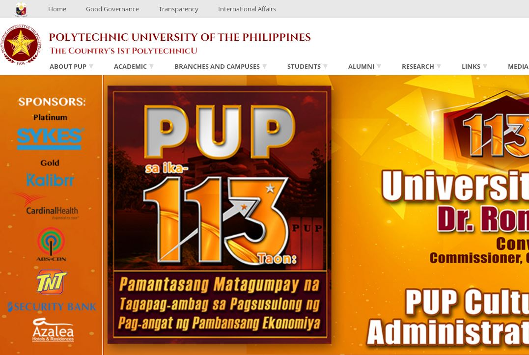 菲律宾理工大学 Polytechnic University of the Philippines