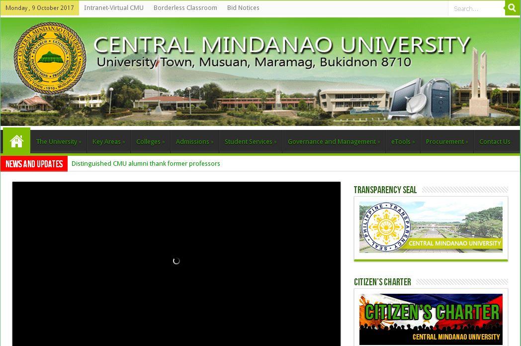 中(zhong)棉蘭老大(da)學,Central Mindanao University