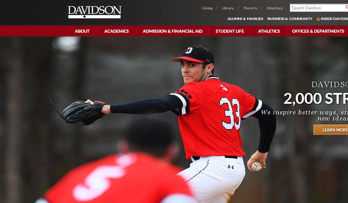 戴維遜fei)?Davidson College