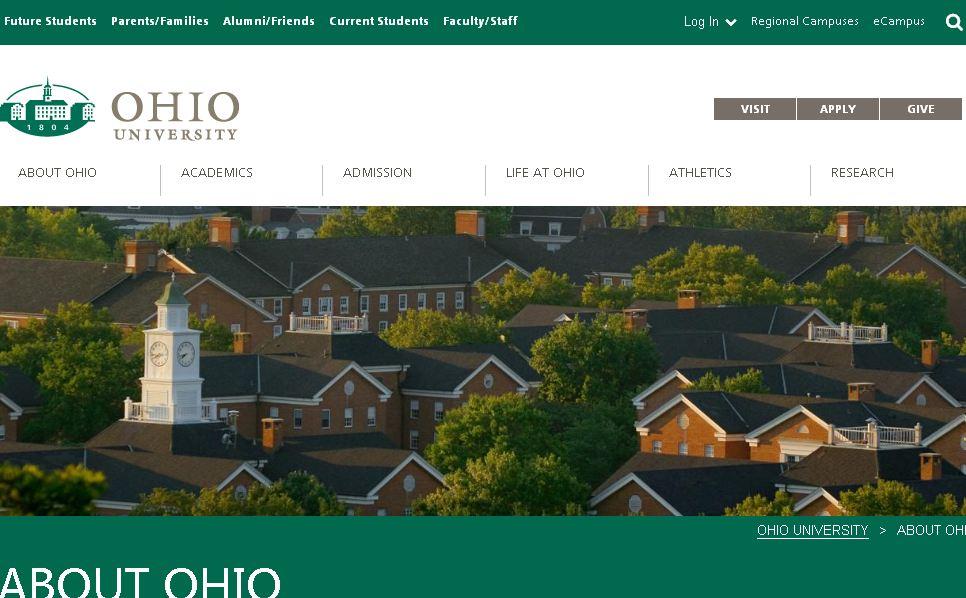 俄亥俄大學 Ohio University