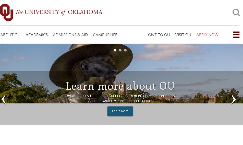 俄克拉荷马大学 University of Oklahoma