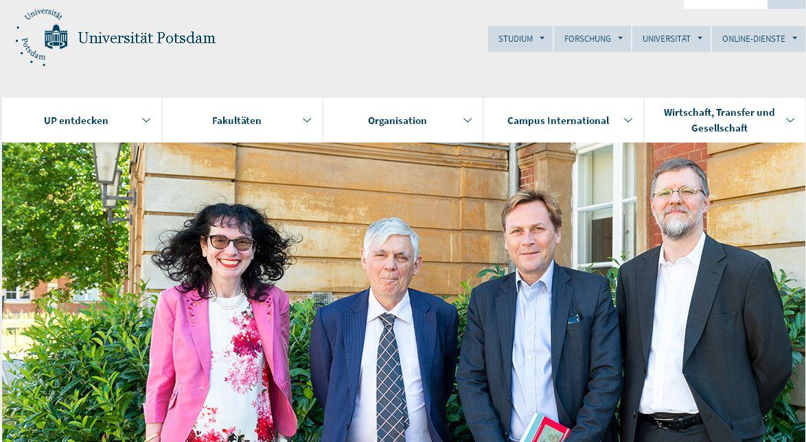 德(de)國波茨坦大(da)學 Universit?t Potsdam