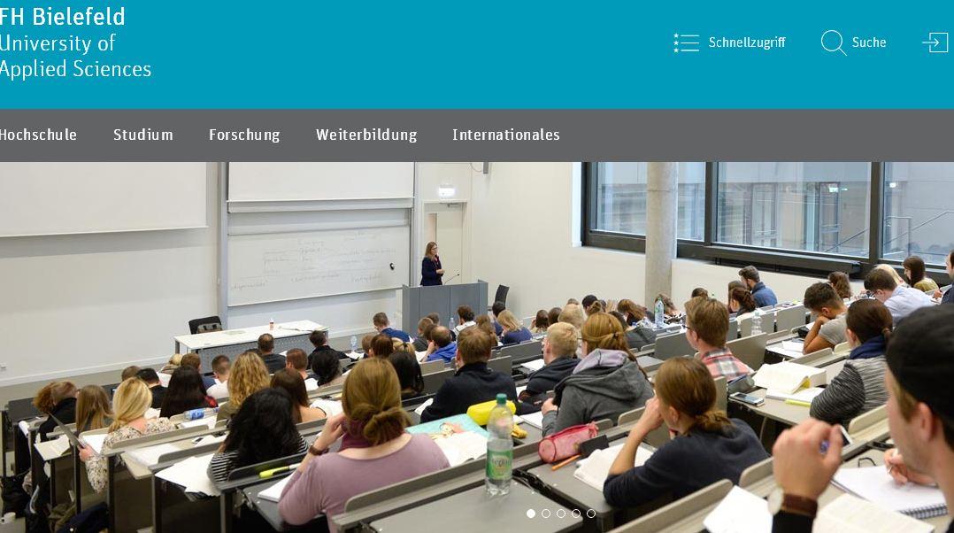比勒費xun)er)德(de)高(gao)等專業(ye)學院 Fachhochschule Bielefeld