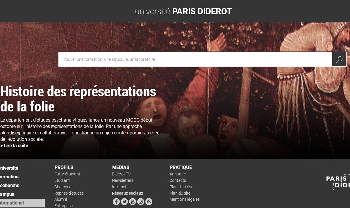 巴黎第七大学 Paris Seventh University