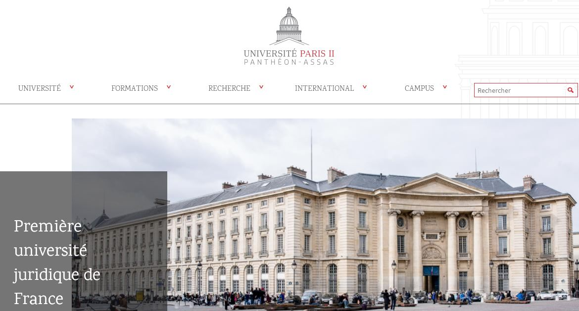 巴黎第二大学 Paris Second University