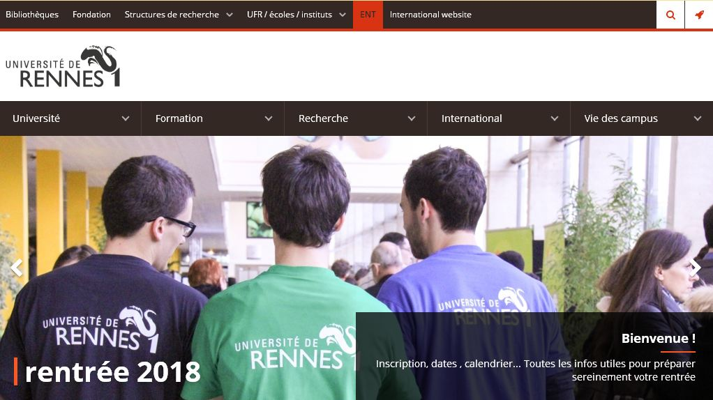 雷恩第一大学 Rennes First Universi