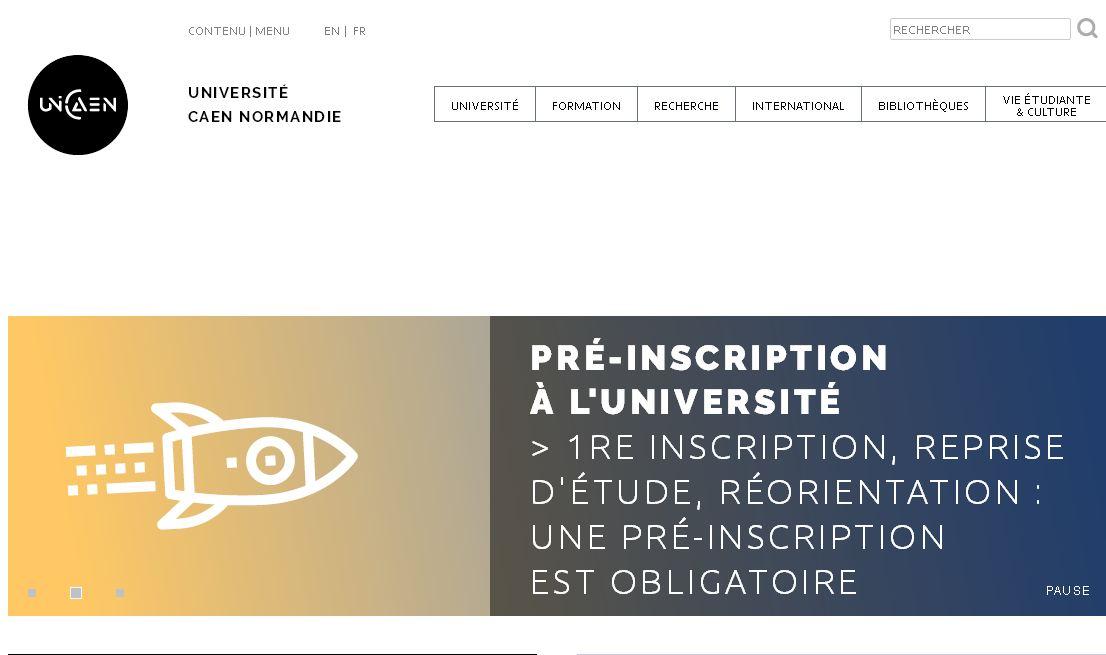 卡昂大學(xue) universit  de caen,Caen University