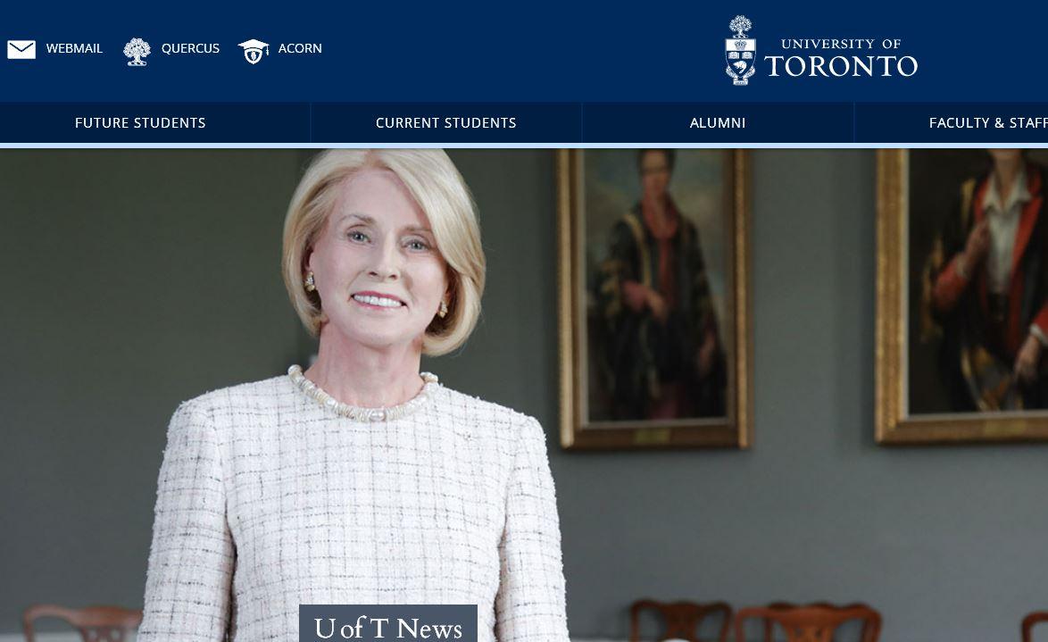 多(duo)倫多(duo)大學(xue) university of toronto