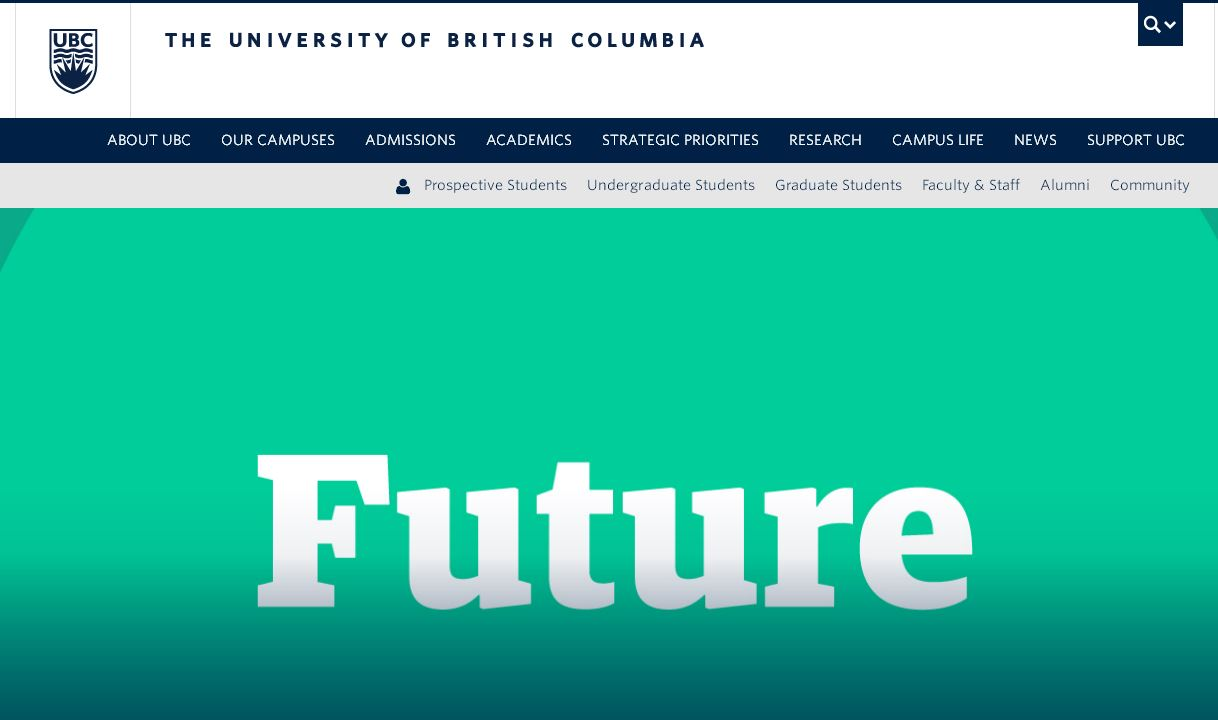 不列颠哥伦比亚大学 university of british columbia