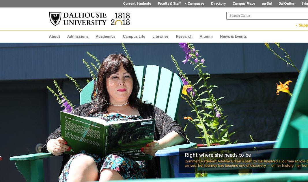 戴爾豪斯大學(xue) Dalhousie University