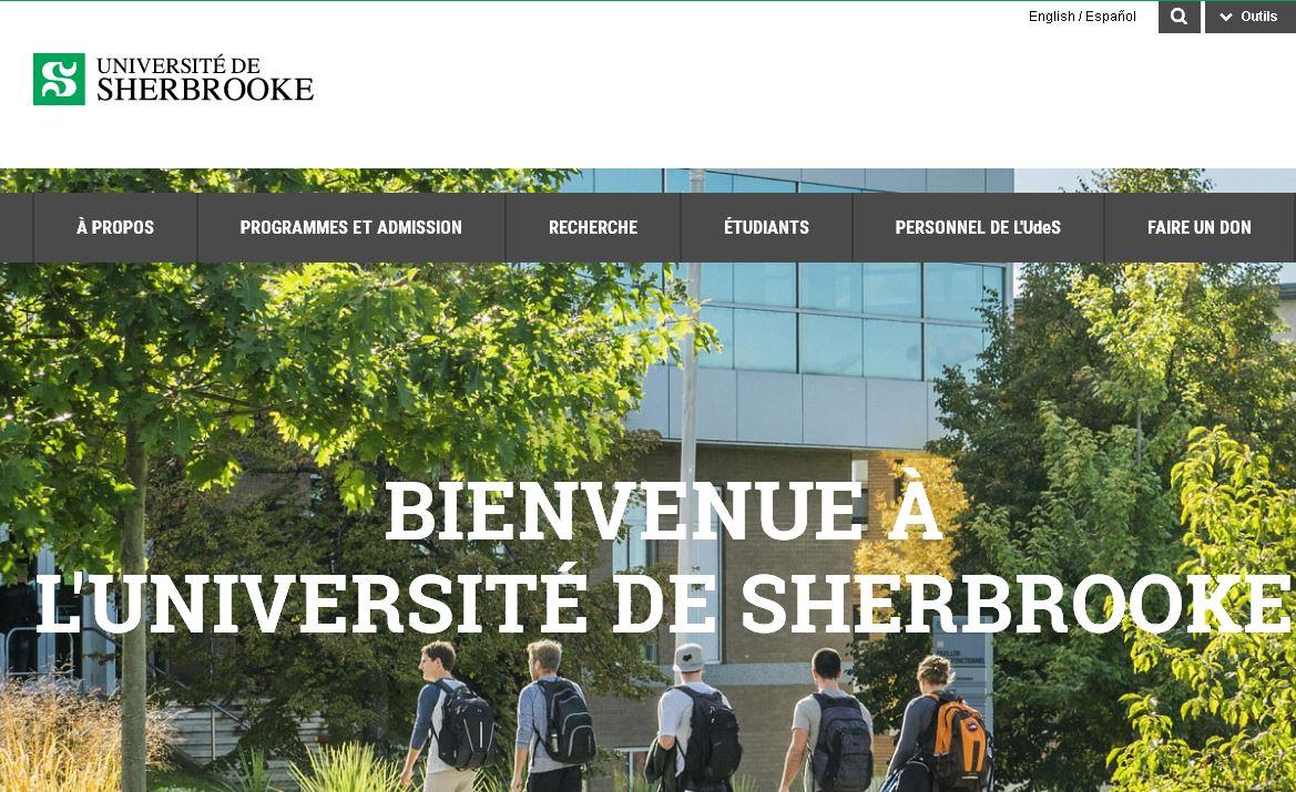 謝布克大學(xue) University of Sherbrooke