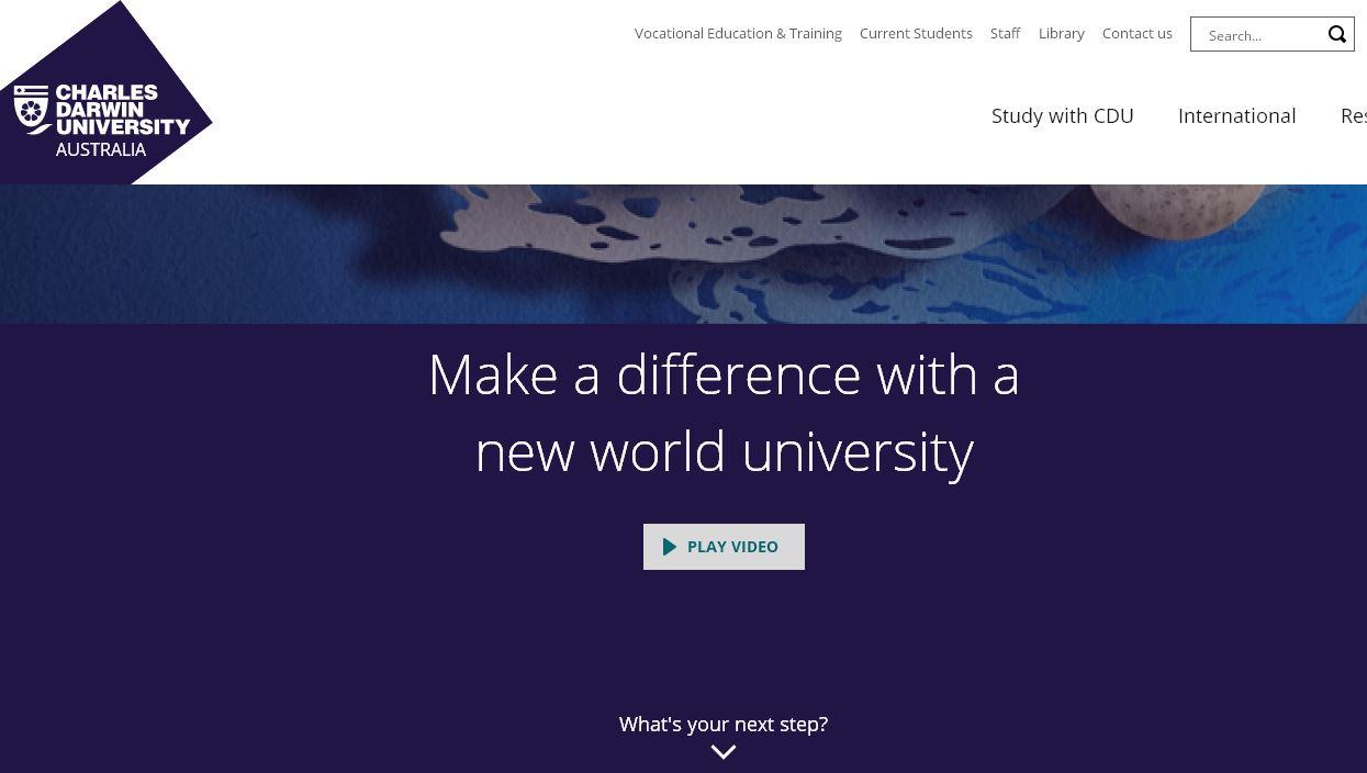 查(cha)爾斯達爾文(wen)大(da)學 Charles Darwin University