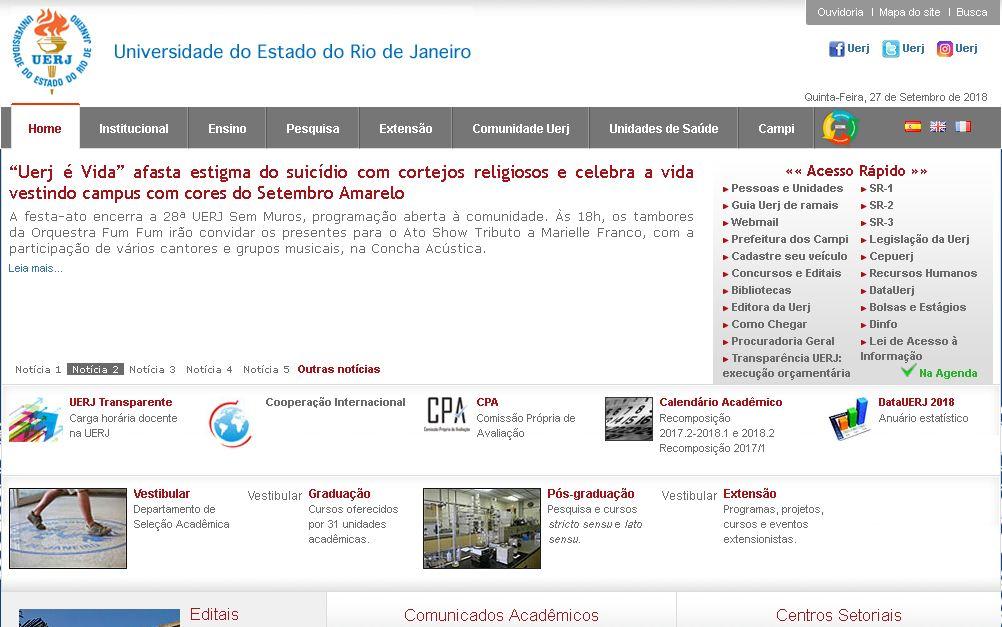 里(li)約熱內盧州立(li)大學(xue) Rio state university