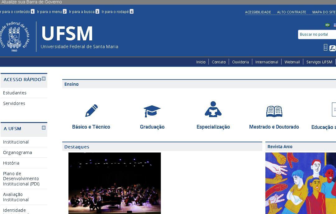 聖瑪(ma)麗亞聯邦大學(xue) Universidade Federal de Santa Maria