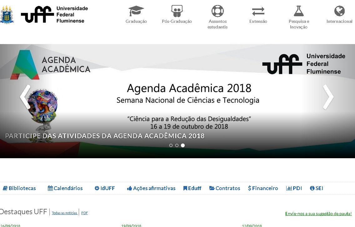 弗魯米(mi)嫩塞聯邦大學(xue) Universidade Federal Fluminense