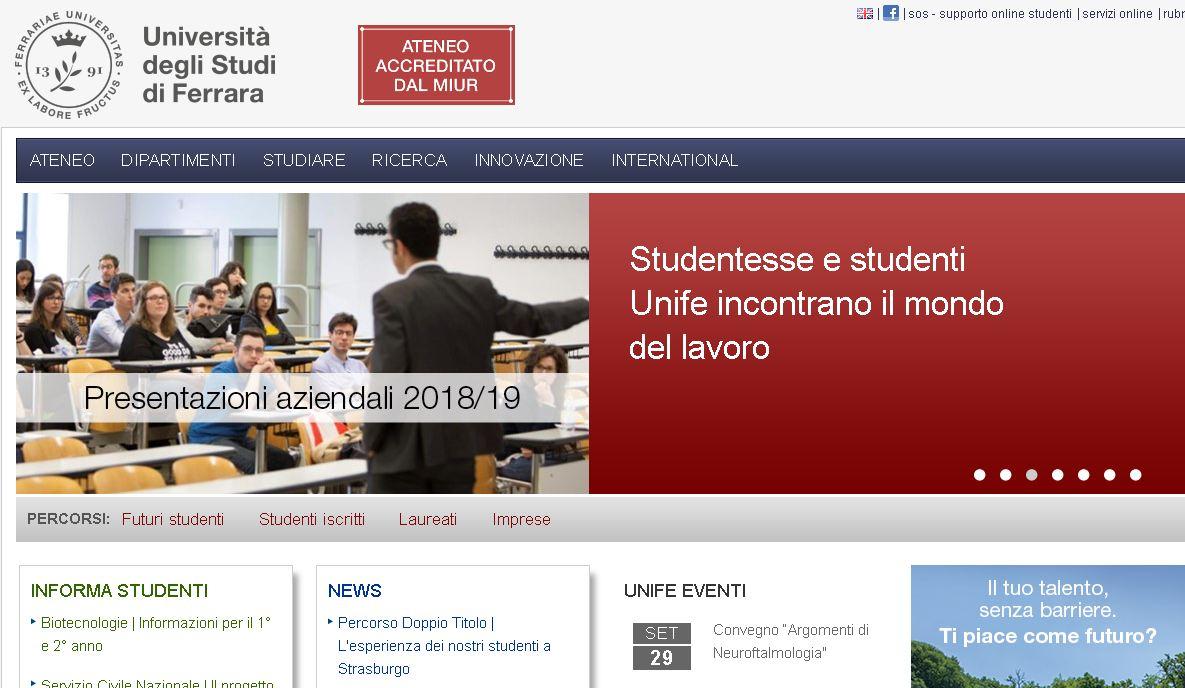 費拉拉大學 Ferrara university