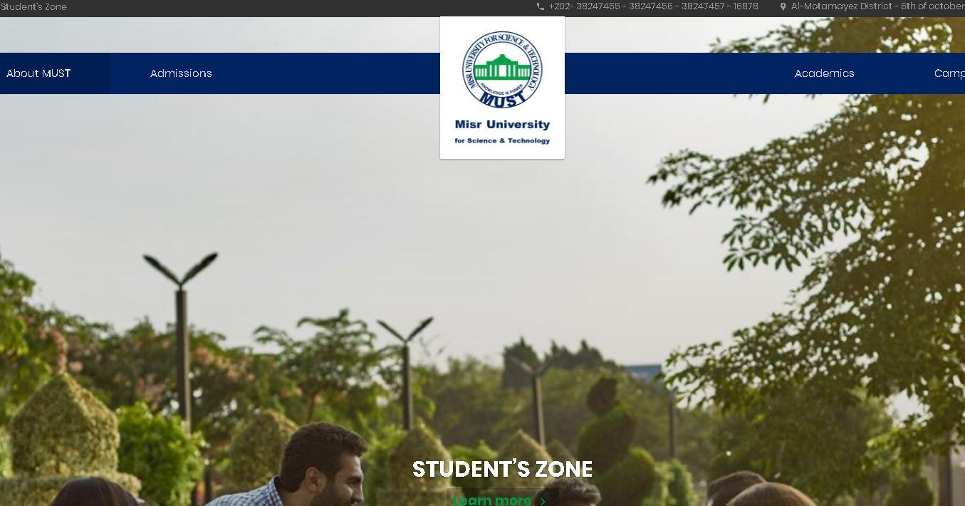 埃及科技(ji)大(da)學 Misr University for Science and Technology