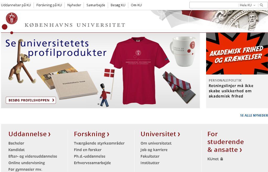 丹(dan)麥(mai)哥本哈根大學