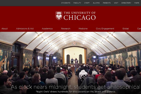 美国芝加哥大学 university of chicago