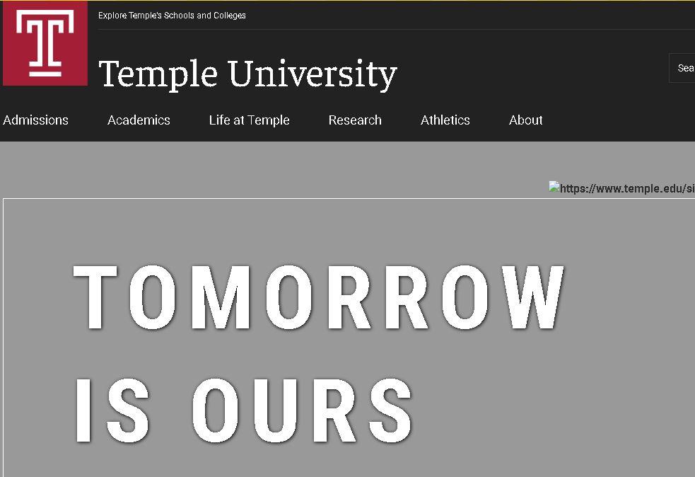 坦普大學Temple University