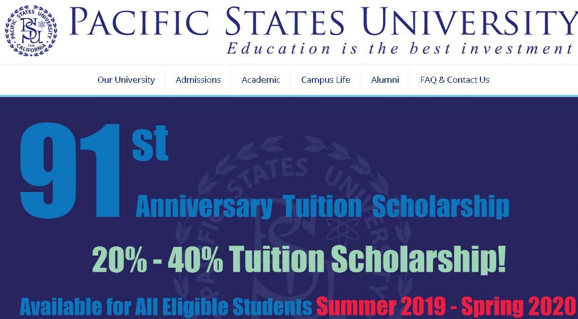 太平洋(yang)州立(li)大學洛(luo)杉磯Pacific States University Los Angeles