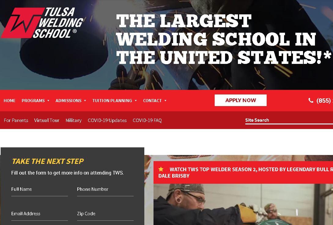 塔爾薩(sa)焊接學校Tulsa Welding School