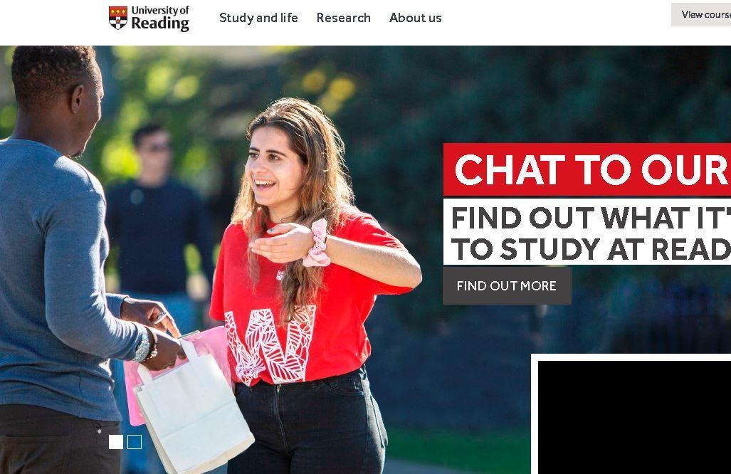 雷丁大(da)學University of Reading
