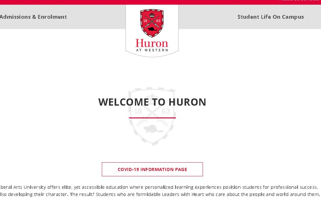 休伦学院Huron University College